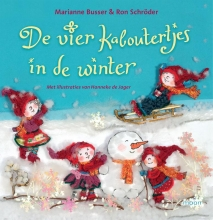 Marianne  Busser De vier kaboutertjes in de winter