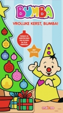 , Kerstboomboek met stickers - Vrolijke Kerst, Bumba