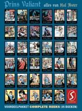 Hal Foster , Prins Valiant: Complete reeks voordeelpakket (35 delen)