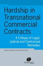 Catherine  Pédamon, Jason  Chuah Hardship in transnational commercial contracts
