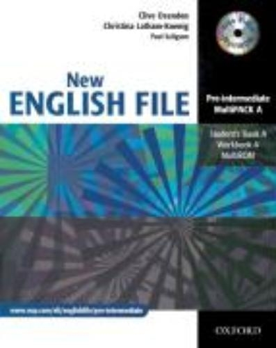 ,English File - New Edition. Pre-Intermediate. Student`s Book. Workbook with Key und CD-Extra