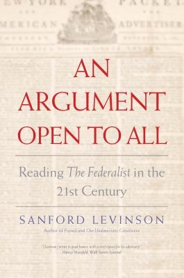 Sanford Levinson,An Argument Open to All