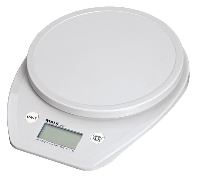 ,Briefweger MAUL Goal tot 5000 gram wit incl.batterij