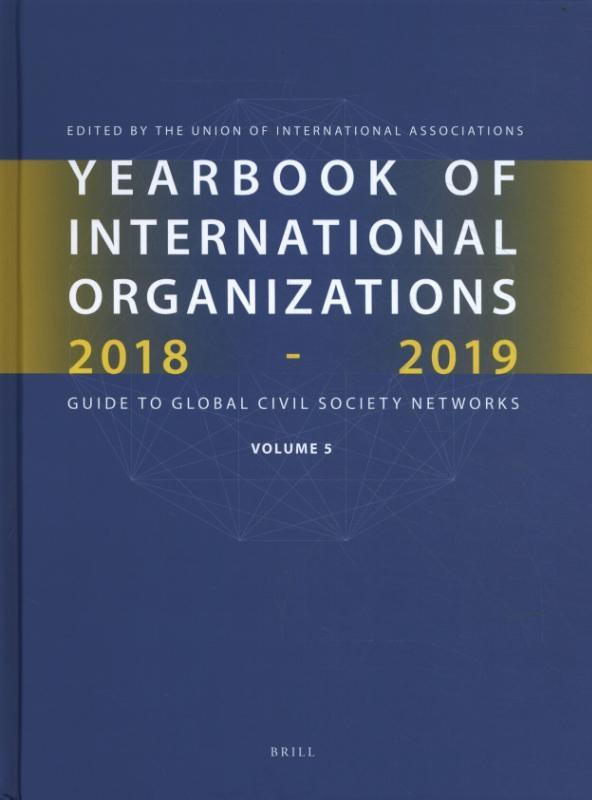 Union of International Associations,Yearbook of International Organizations 2018-2019