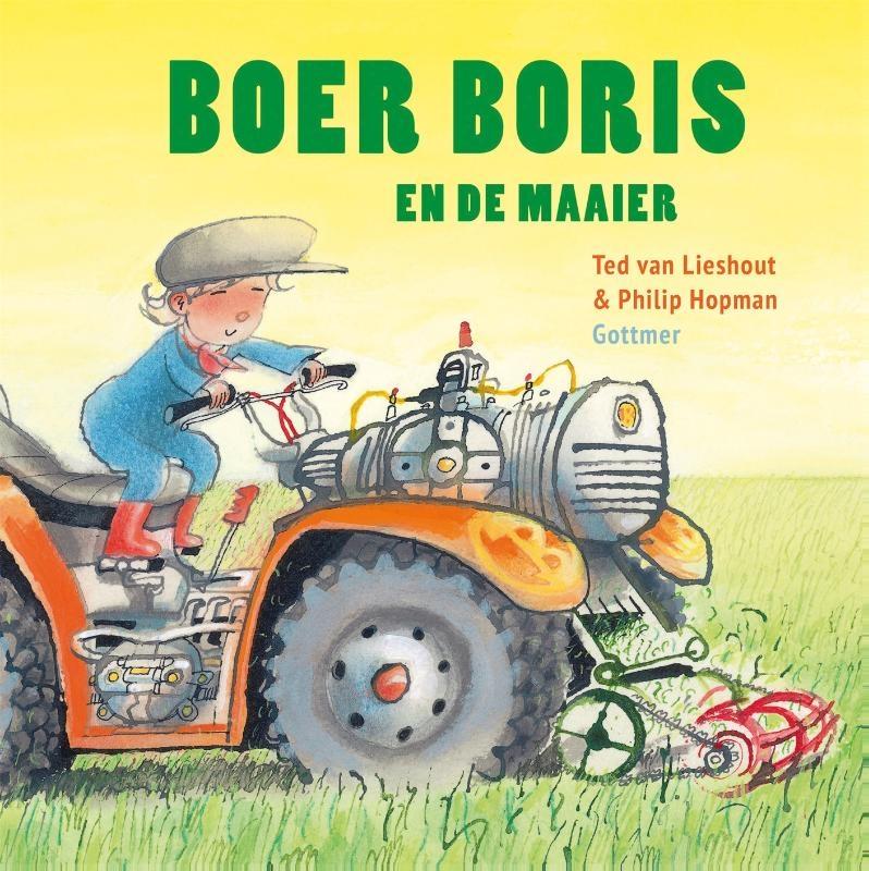 Ted van Lieshout,Boer Boris en de maaier