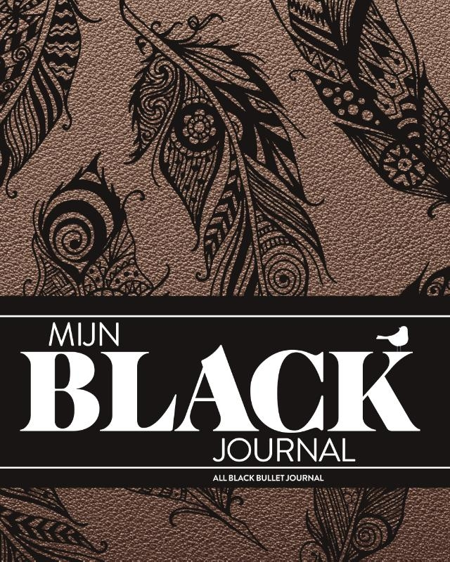 ,Mijn Black Journal-Bohemian Feather