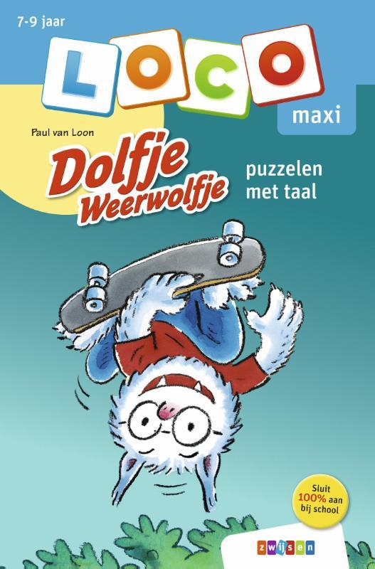 Paul van Loon,Loco maxi Dolfje Weerwolfje puzzelen met taal
