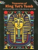 Roytman, Arkady,Treasures of King Tut`s Tomb Stained Glass Coloring Book
