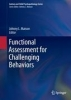 ,Functional Assessment for Challenging Behaviors