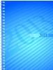 ,rido Buchkalender 2019 futura 2, PP-Einband blau