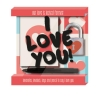 ,Display 6 ex � 9.95 - I Love you Liefdesslot met boekje en stiftje
