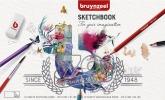 ,Schetsboek Bruynzeel Expression 20 vel