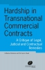 <b>Catherine  Pédamon, Jason  Chuah</b>,Hardship in transnational commercial contracts
