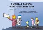 <b>John  Reid, Bastiaan  Geleijnse, Jean-Marc van Tol</b>,Fokke & Sukke familieplanner 2019