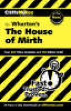 Walker, Bruce E. Cliffsnotes the House of Mirth