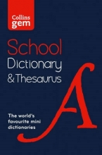 Collins Dictionaries Collins Gem School Dictionary & Thesaurus