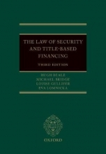 Beale, Hugh The Law of Security and Title-Based Financing