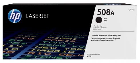 , Tonercartridge HP CF360A 508A zwart