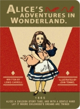 Alice in Wonderland Stitch Small Blank Notebook