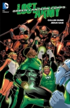 Bunn, Cullen Green Lantern Corps The Lost Army 1