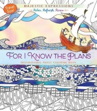 For I Know the Plans Adult Coloring Book