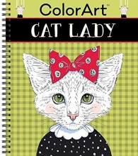 Color Art Cat Lady