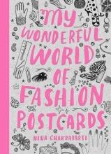 Nina Chakrabarti, My Wonderful World of Fashion Postcards