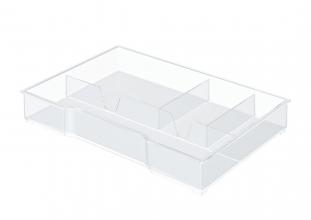 , Inzetbak Leitz voor ladenbox transparant