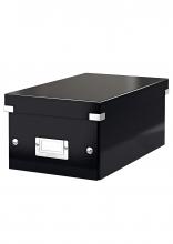 , Dvd Box Leitz WOW Click & Store 206x147x352mm zwart