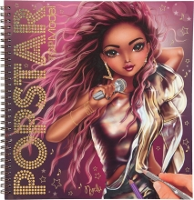 , Topmodel popstar kleurboek