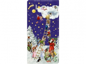, Mini advent calender kerstladder 100g