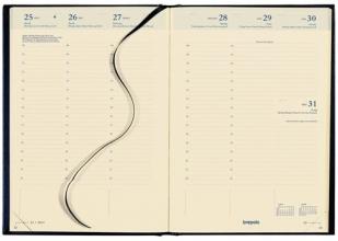 , Agenda bretime 16 maanden 2020-2021 7 dagen per 2 pagina bordeaux