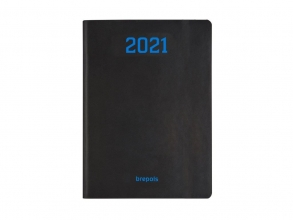 , Agenda 2021 timing nero zwart 18x23
