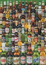 Edu-12736 , Puzzel bieren - beers - puzzel educa - 1000 - (48x68)