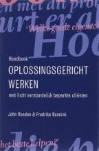 F. Bannink J. Roeden, Handboek oplossingsgericht werken met licht verstandelijk beperkte clienten