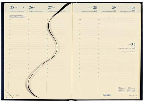 ,Agenda bretime 16 maanden 2020-2021 7 dagen per 2 pagina bordeaux