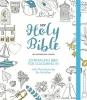 Colour hardback , NIV journaling bible