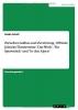 Scholl, Guido, Zwischen Aufbau und Zerst?rung - Elfriede Jelineks Theatertexte `Das Werk`, `Ein Sportst?ck` und `In den Alpen`