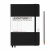<b>Lt329398</b>,Leuchtturm notitieboek medium 145x210 dots / bullets zwart