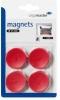 , Lega Magneten Rood 30 Mm 4 St