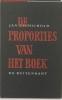 Jan Tschichold, De proporties van het boek