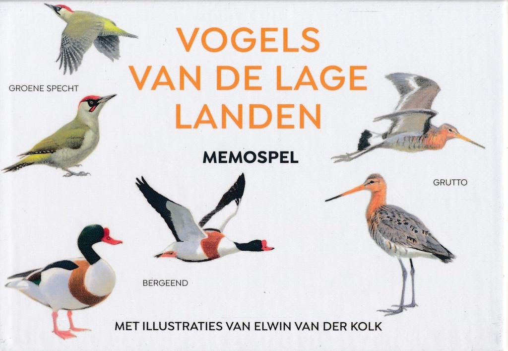 Elwin van der Kolk,Vogels van de Lage Landen