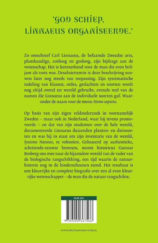 Gunnar Broberg,Carl Linnaeus