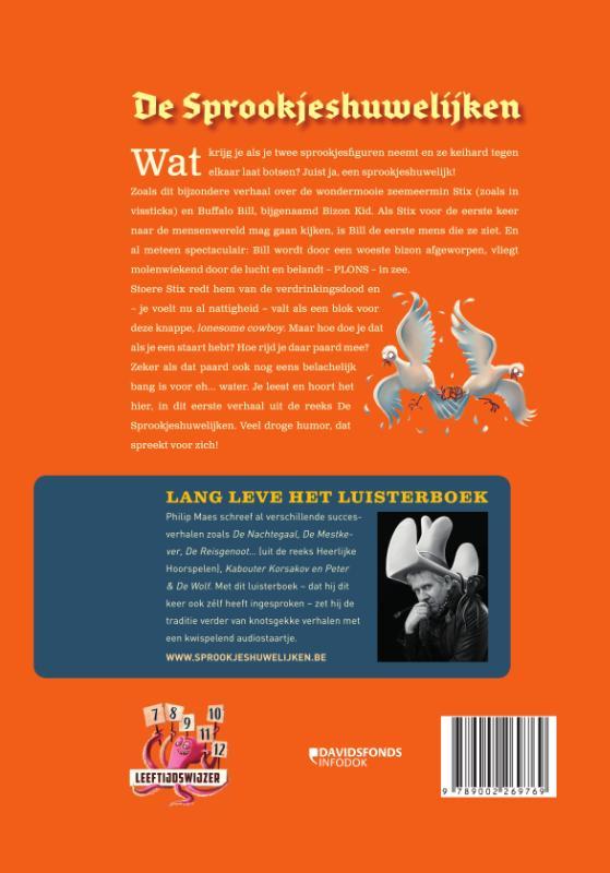 Philip Maes,Buffalo Bill en de kleine zeemeermin met luisterboek