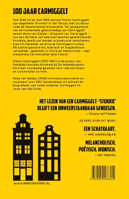 Simon Carmiggelt,Dwalen door Amsterdam met S. Carmiggelt