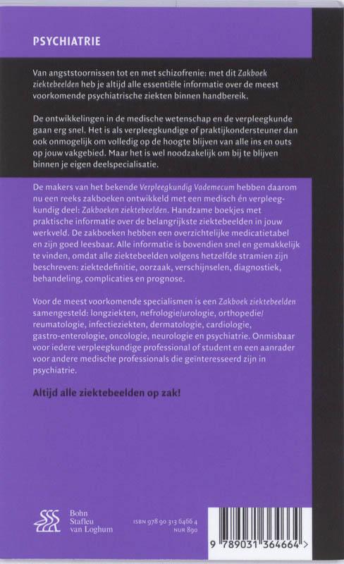 ,Zakboek ziektebeelden Psychiatrie