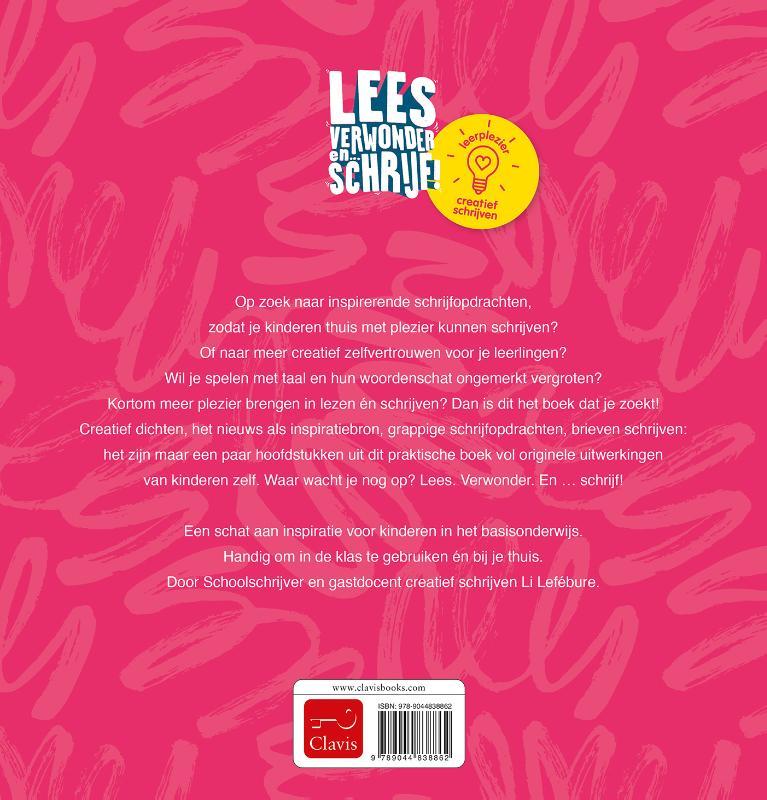 Li Lefébure,Lees, verwonder en ... schrijf!