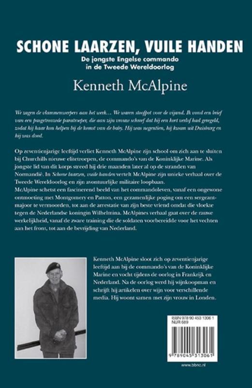 Kenneth McAlpine,Schone laarzen, vuile handen