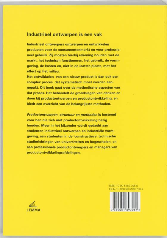 N.F.M. Roozenburg, J. Eekels,Productontwerpen, structuur en methoden