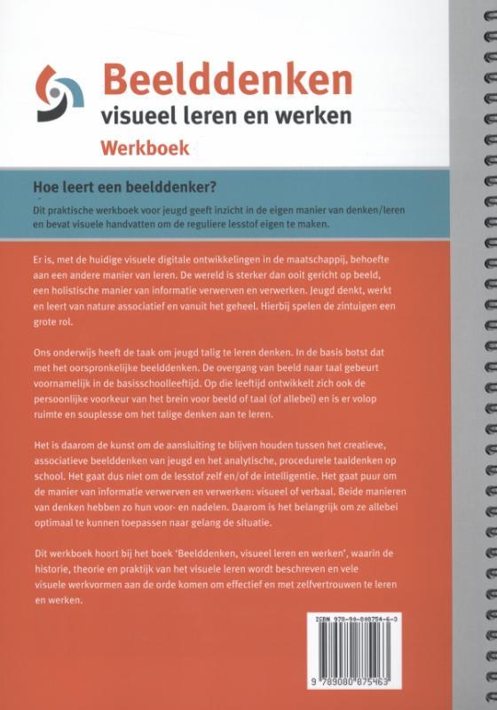 Marion van de Coolwijk,Beelddenken, visueel leren en werken werkboek
